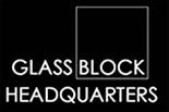 GLASS BLOCK HEADQUARTERS logo