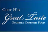 CHEF B'S GREAT TASTE logo