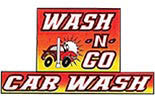 WASH-N-GO CAR WASH logo