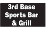 3RD BASE SPORTS BAR & GRILL logo