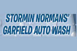 STORMIN NORMANS' GARFIELD AUTO WASH logo
