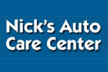 NICK'S AUTO CARE CENTER logo