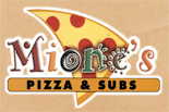 MIONES PIZZA & SUBS/ SOUTH POINT logo