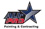 ALL-PRO PAINTING & CONTRACTING logo