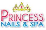 PRINCESS NAILS & SPA logo