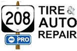 208 TIRE & AUTO REPAIR logo