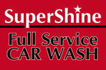 SuperShine Car Wash logo