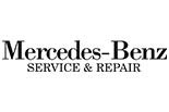 MERCEDES - BENZ SERVICE & REPAIR logo
