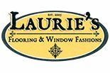 LAURIE,S FLOORING $ WINDOW logo