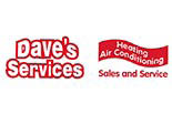 DAVES SERVICES / HEATING & AIR logo