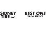BEST ONE TIRE / SIDNEY TIRE logo