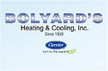 BOLYARD, HEATING & COOLING, INC. logo