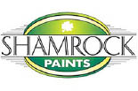 SHAMROCK PAINTS - VICTORY logo