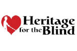 HERITAGE FOR THE BLIND - DONATE A CAR COLUMBIA logo