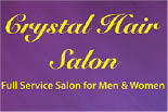 CRYSTAL HAIR SALON STATEN ISLAND logo