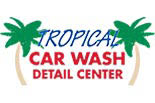 TROPICAL CAR WASH logo
