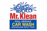 Mr. Klean Car Wash logo