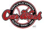 Triple Play Car Wash logo