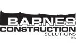 BARNES CONSTRUCTION SOLUTIONS logo
