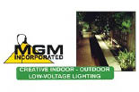 MGM LANDSCAPE LIGHTING logo