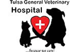 TULSA GENERAL VETERINARY logo