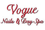 VOGUE NAILS AND DAY SPA logo