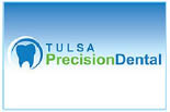 TULSA PRECISION DENTAL logo