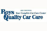 ROY'S QUALITY CAR CARE logo