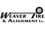 WEAVER TIRE & ALIGNMENT logo