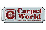 CARPET WORLD logo