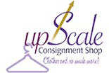 UPSCALE CONSIGNMENT SHOP logo