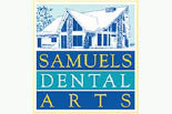 SAMUELS DENTAL ARTS logo