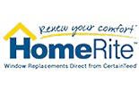 HOME RITE WINDOWS & DOORS logo