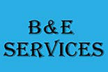 B&E SERVICES logo