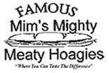 MIM'S MIGHTY MEATY HOAGIES logo