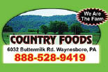 COUNTRY FOODS logo