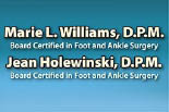 Marie L. Williams D.P.M. logo