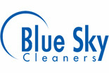 BLUE SKY CLEANERS logo