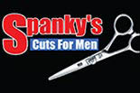 SPANKY'S CUTS FOR MEN logo
