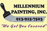MILLENNIUM PAINTING CO. logo