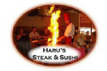 HARU'S JAPANESE STEAK & SUSHI logo