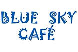 BLUE SKY CAFE Wraps, Burgers, Salads - Asheville logo