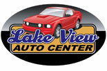 LAKE VIEW AUTO CENTER logo