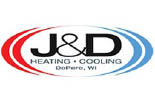 J & D HEATING & COOLING logo
