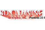 3D CLEANING logo