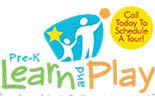 PRE-K LEARN AND PLAY logo