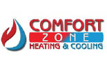 COMFORT ZONE HEATING & COOLING logo