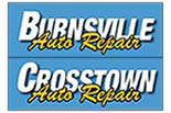 BURNSVILLE & CROSSTOWN AUTO REPAIR logo