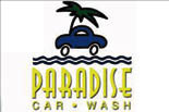 PARADISE CAR WASH logo