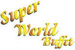 SUPER WORLD BUFFET logo
